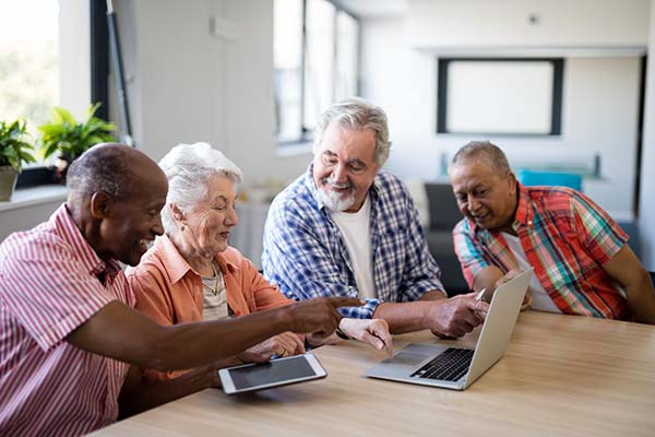 Information to help seniors become more tech savy